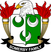 American Coat of Arms for Somerby