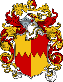 English or Welsh Coat of Arms for Leighton (Shropshire and Somersetshire)