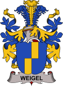 Swedish Coat of Arms for Weigel