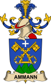 Republic of Austria Coat of Arms for Ammann