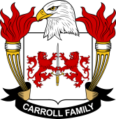 American Coat of Arms for Carroll