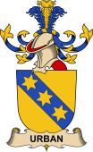 Republic of Austria Coat of Arms for Urban (Von)