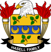 American Coat of Arms for Hasell