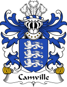 Welsh Coat of Arms for Camville (Lords of Llansteffan)