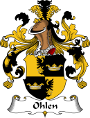 German Wappen Coat of Arms for Ohlen
