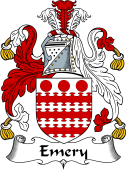 English Coat of Arms for Emery