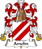 Coat of Arms from France for Amelin