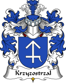 Polish Coat of Arms for Krzyzostrzal