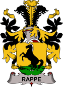 Swedish Coat of Arms for Rappe