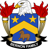 American Coat of Arms for Bernon