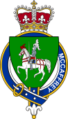 Families of Britain Coat of Arms Badge for: McCaffery (Ireland)