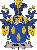 Swedish Coat of Arms for Ribbing