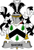 Irish Coat of Arms for Shore