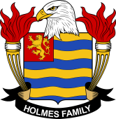 American Coat of Arms for Holmes