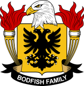 American Coat of Arms for Bodfish