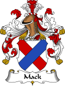 German Wappen Coat of Arms for Mack