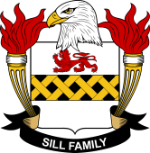 American Coat of Arms for Sill