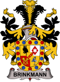 Swedish Coat of Arms for Brinkmann