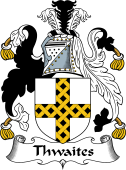 English Coat of Arms for Thwaites