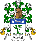 Coat of Arms from France for Auriol