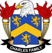 American Coat of Arms for Charles