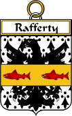 Irish Badge for Rafferty or O'Rafferty