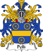 Italian Coat of Arms for Pelli