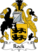 Irish Coat of Arms for Rock