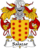 Portuguese Coat of Arms for Salazar