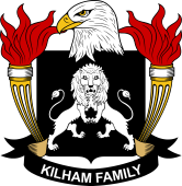 American Coat of Arms for Kilham