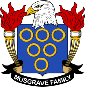 American Coat of Arms for Musgrave