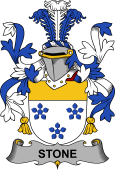 Irish Coat of Arms for Stone