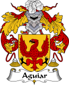 Portuguese Coat of Arms for Aguiar