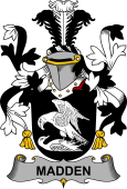 Irish Coat of Arms for Madden or O'Madden