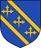 Coat of Arms from France for Knatchbull