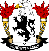 American Coat of Arms for Garrett