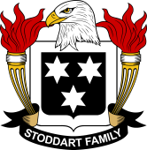 American Coat of Arms for Stoddart