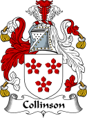 English Coat of Arms for Collinson