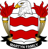 American Coat of Arms for Martyn