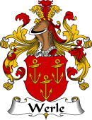 German Wappen Coat of Arms for Werle