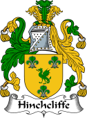 English Coat of Arms for Hinchcliffe