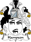 English Coat of Arms for Hampson