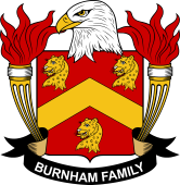 American Coat of Arms for Burnham