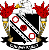 American Coat of Arms for Conway