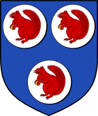 Coat of Arms from France for Creswell