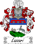 Araldica Italiana Italian Coat of Arms for Lazzari