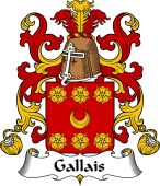 Coat of Arms from France for Gallais