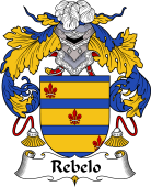 Portuguese Coat of Arms for Rebelo