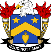 American Coat of Arms for Boudinot