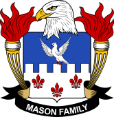 American Coat of Arms for Mason